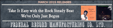 MAR 2015 Federal CD Releases